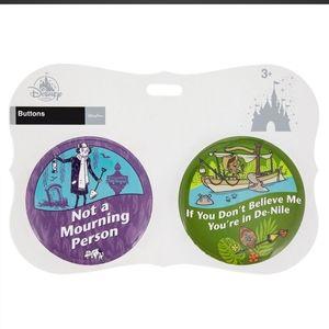 Disney Parks Souvenir Buttons/Pins